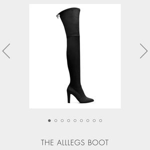 Stuart Weitzman the Allleg boots suede black